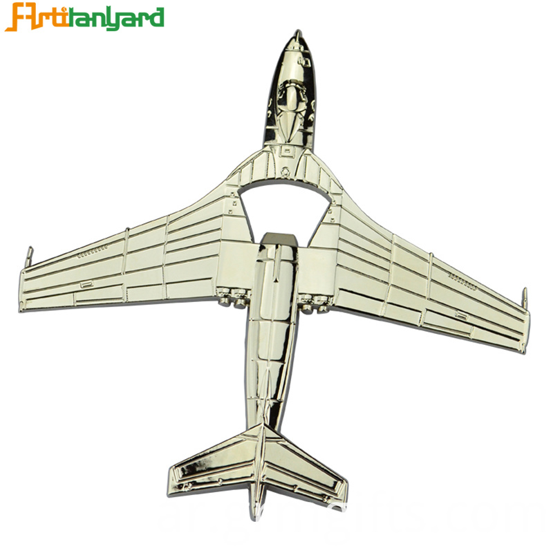 Alloy Aircraft Shape Bottle Openers