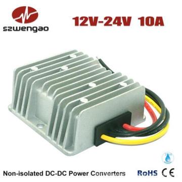 Step up 12V DC to 24V DC 10A Power Converter