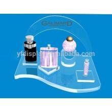 Transparenter Acryl Countertop Kosmetik-Ausstellungsstand