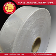 High visibility safety microprism reflex tape