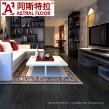 12mm черный цвет древесины зерна тиснением ламинат деревянные полы
