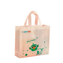 Eco Friendly Product Wholesale Recyclable Customized print non woven shopping tote bag