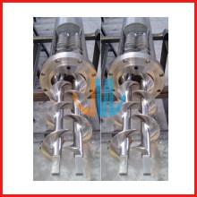 Двойной винт и цилиндр из нержавеющей стали для машинного оборудования для производства паст / пищевых продуктов