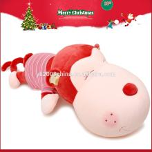Promotional Custom Christmas White Monkey Love Plush Toy for Girl