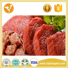 Alimentos para cães orgânicos Fabricante Comida de cachorro de lata de sabor de carne