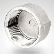 150lb Bsp / NPT Threaded Hydraulic Stainless Steel Cap