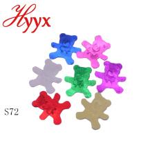 Decorações do chuveiro de bebê do papel de tecido de HYYX para o menino