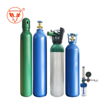 Oxygen cylinders for oxygen gas  Regulators  medical Regulator  pressure with humidifiers and flow meters