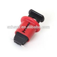 CE certificación de seguridad de nylon no conductor de bloqueo del interruptor automático