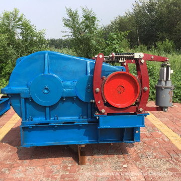 Large and medium fast 9 tons single drum electric hoist