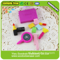 Blue Lipstick For Girls Funny Eraser Toys