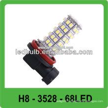 Lampe antibrouillard DC12V 3528 SMD H8