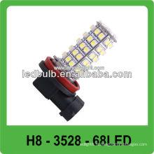 DC12V 3528 SMD H8 luz de nevoeiro led