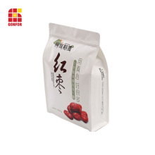 Bolsa de caja de fondo plano para embalaje de nueces