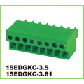 Pitch PA66 3.81mm Blok Terminal Konektor PCB Pluggable