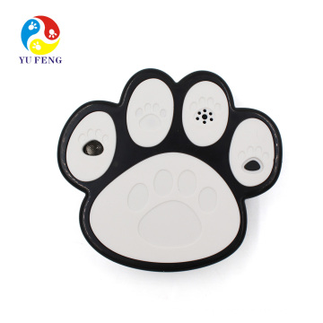 Supplier products New model Ultrasonic dpg deterrent Improved No Bark Tool paw design bark control dog Newest Humanely Stop Your Or Your Neighbor's Dog From Barking Anti Dog Bark Device