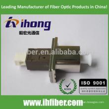 LC / UPC-MU / UPC Adaptador de fibra óptica Single mode