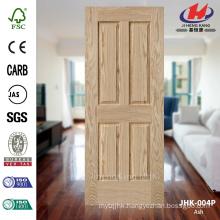 JHK-004P 3mm Good Quality Explosion Sales Europe Apartment Natural Ash Mould HDF MDF Door Skin