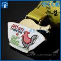 medallas personalizadas de animales de ave y de flores de metal