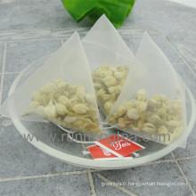 Sacs à thé imprimés faits sur commande Sac à thé Pyramide