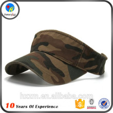 Cotton Blank Sports Camouflage Visors