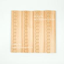 Mueble decorativo tallado modelado con moldura de madera de esquina