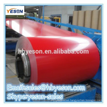 Various colors color coated galvanized steel coil color coil / galvanized steel coil
