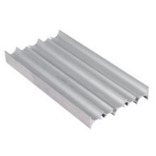 Profilé extrudé en aluminium anodisé argent de qualité extrudée
