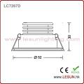 Small 1W Silver Ce Certificate LED Spotlight for Showcase (LC7261S)