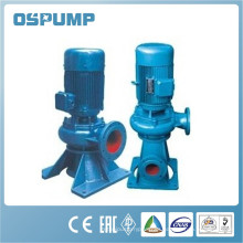 Serie WL Bomba centrífuga de penetración de aguas residuales verticales industriales