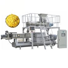 Автоматический двухшнековый экструдер для кукурузных хлопьев