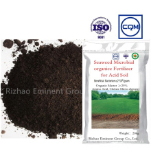 Seaweed Microbial Organic Specialized Amendment Fertilizer for Acid Soil