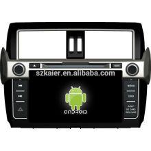 En stock ! Reproductor de DVD del coche de la pantalla táctil de Android 4.1 para Toyota 2014 toyota + dual core + OEM