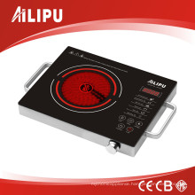 CB Certification with Metal Housing Touching Screen Big Size Electric Infrared Cooker with Handles