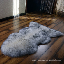 single pelt floor mat sheepskin carpet area rug for living room