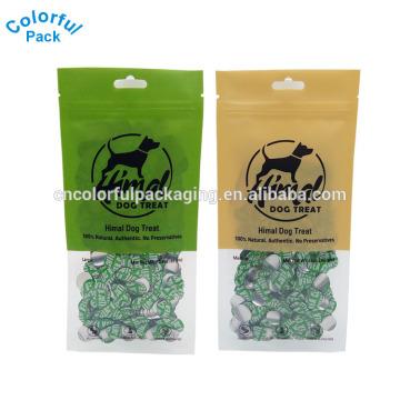 Venta caliente shenzhen proveedor medio transparente embalaje para perro bolsa de regalo