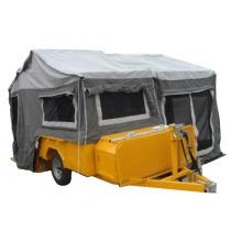 fiberglass reinforced plastic folding camper trailer with window