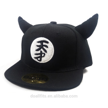 Very cute and emboridery logo can be revolved kid caps
