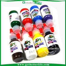Getbetterlife elegante 15ml 8colors venda quente conjunto de tinta de tatuagem