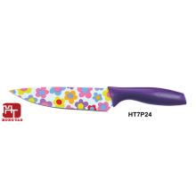 антипригарное покрытие красочный кухонный нож шеф-повара