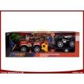 Toys Auto Sets Reibung Spielzeug Auto DIY Spielzeug