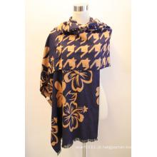 Senhora fashion viscose tecido jacquard franjas xaile (yky4407)