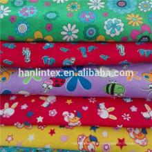 100% Baumwoll-Flanell-Stoffe für Schlafkleidung