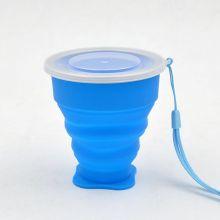 170ml Garrafa de água dobrável de silicone, garrafa de água flexível de silicone, garrafa de água em silicone dobrável