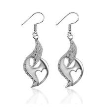 Boucles d'oreilles de mode classique Mariage argenté