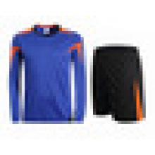 Custom men soccer kits long sleeves tracksuit