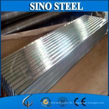 1.2mm Stärke galvanisiertes gewölbtes Stahlblech auf Verkauf