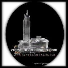 Modelo de construção de cristal maravilhoso H047