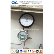 Tank Differential Pressure Levelmeter Gauge