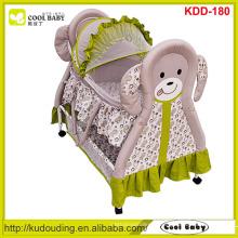 Fabricante NEW Baby Cradle Portable berço Swing Baby Bed com borboleta Mosquito Net